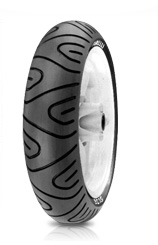 Pirelli, SL 36 DJ, Unidirectional Tyre, 120/70-11 50L, SL 36/SL 38 Scooter Tread pattern identical to the PIRELLI MTR 01/ MTR 02 high-performance motorcycle-tyre Excellent compound for high levels of