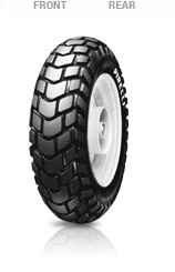 Pirelli, SL 60, Unidirectional Tyre, 120/90-10 57J, SL 60/SL 90 Scooter Classic designed tread pattern with low section profile and stiff carcass, to ensure superb stability when cornering, even when