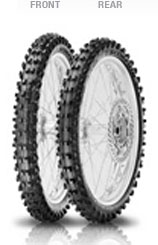 Pirelli, Scorpion MX Mid Soft 32, Front Tyre, 60/100-14 29M NHS, Scorpion MX MID SOFT 32 Extreme traction to keep always the maximum speed on medium to soft terrains Maximum stability to carve new tr