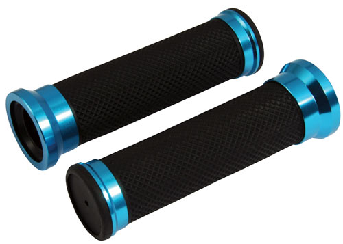 Custom Grips Twin Ring Blue