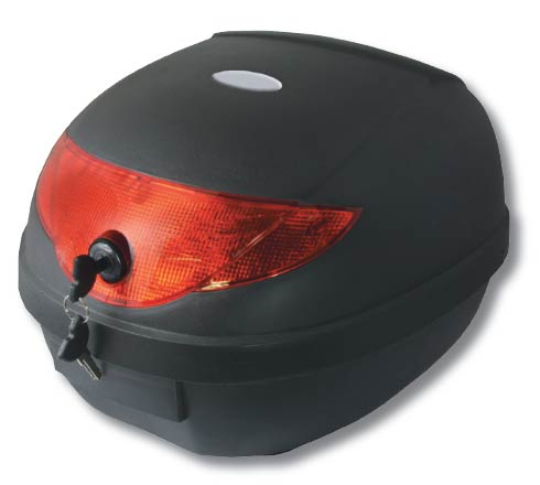 Motorbike Top Box 24 Litre ABS luggage Top Box