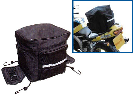 Motorcycle Tail Bag Soft Luggage