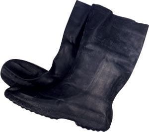 Rubber Waterproof Overboots (Extra Small)