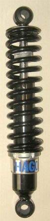 Black body and black slim-line springs 