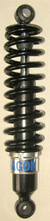 Black body and black standard springs 